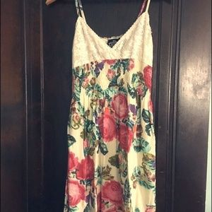 Angie Floral Dress